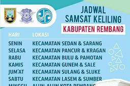Jadwal Samsat Keliling Rembang Oktober 2018
