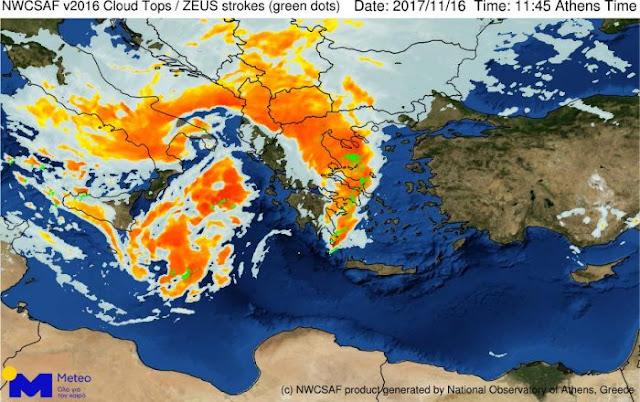 Δεν τελειώσαμε με την κακοκαιρία - Έρχεται ο κυκλώνας «Ζήνωνας»
