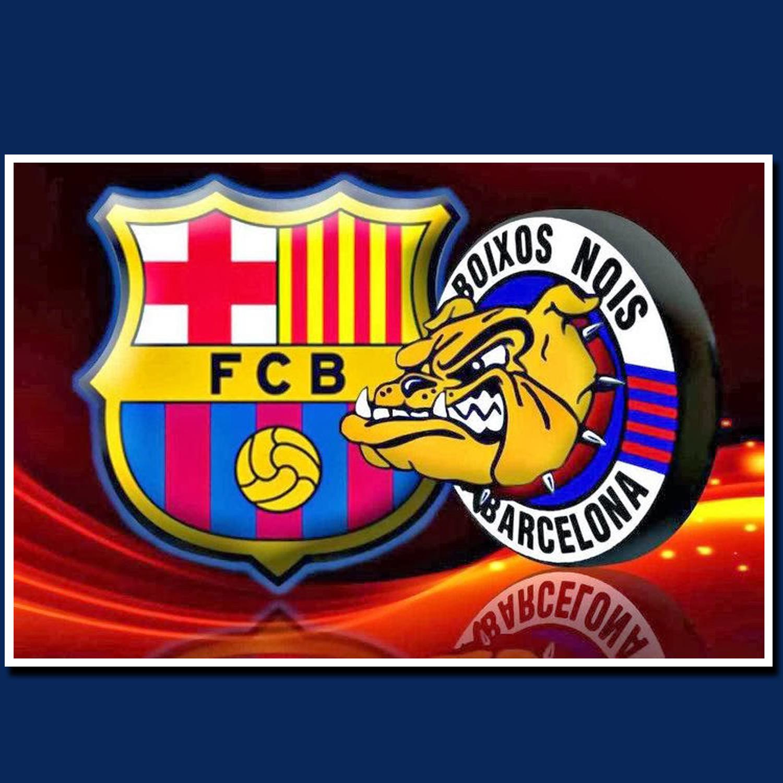 POSTER, POSTER CUSTOM FCB (FOOTBALL CLUB BARCELONA)