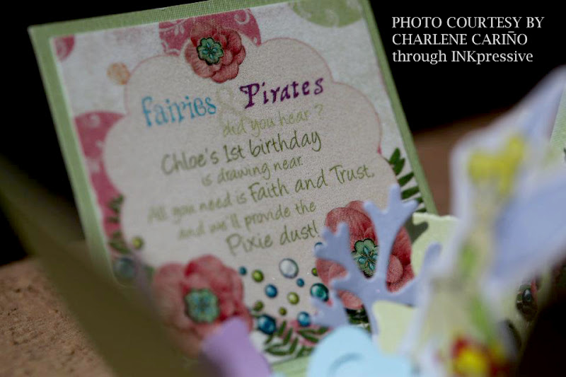 inkpressive invitations and crafts tinkerbell party exploding box invite