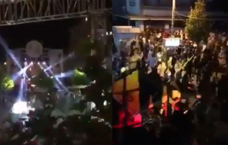 "Stampede ensues, 40 people injured after someone shouted ""ISIS"" inside huge crowd"
