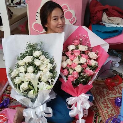 flower bouquet surabaya, hand bouquet surabaya murah, jual hand bouquet wedding surabaya