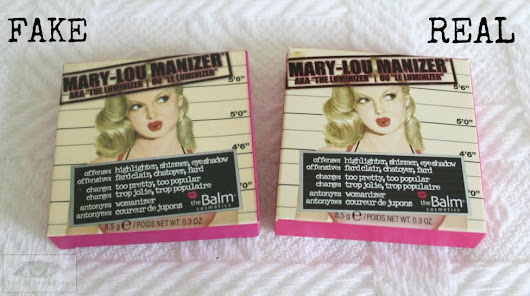 How to Spot Fake Mary-Lou Manizer by The Balm