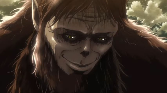 On The Note Of Beast Titan If You Found Him Unsettling Before Excellent Voice They Chose For In Anime Will Definitely Triple That Queasy