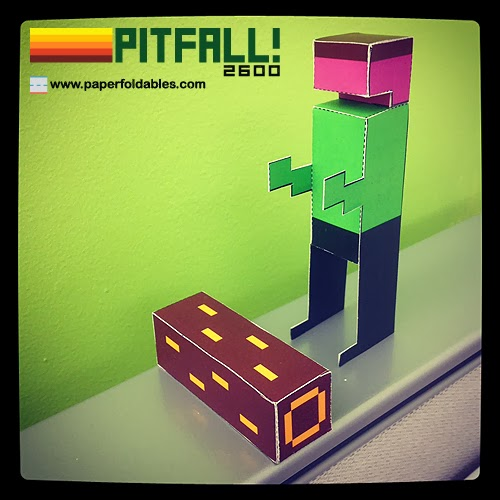 Pitfall! 2600 Paper Toy