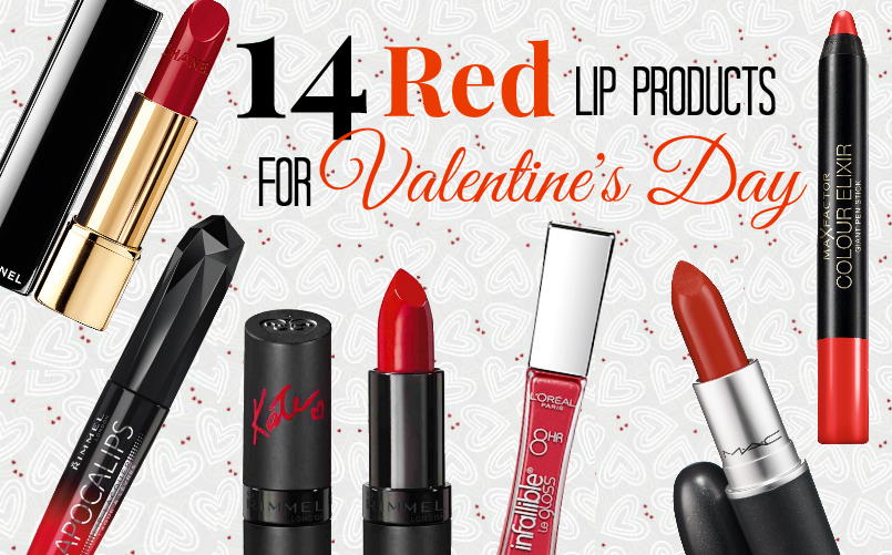 14 Red Lip Products For Valentine's Day