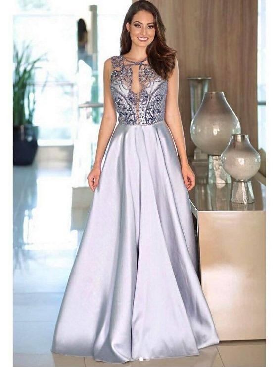 Vestido azul gode