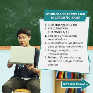 donlot ruang guru di laptop