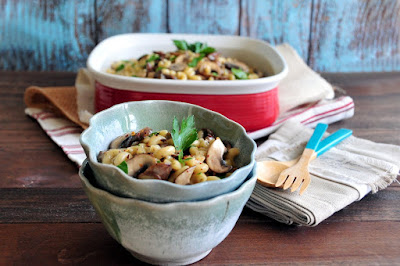 Learn how to make this quick and easy weeknight meal: Truffled Mushroom Mac and Cheese.  It's the perfect comfort food upgraded! http://uTry.it
