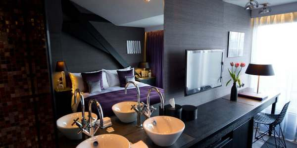 guest room in Canal House in Amsterdam