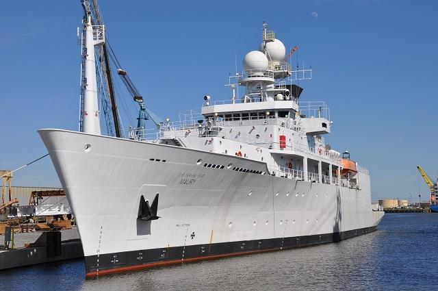 U.S. Navy Took Delivery of Pathfinder-class Oceanographic