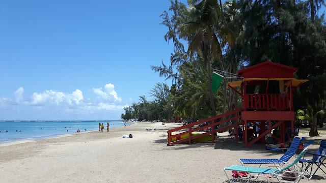 schönster Strand in Puerto Rico: Luqillo