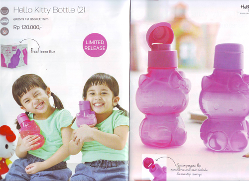 Tupperware Hello Kitty Bottle