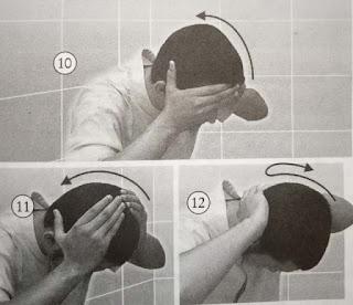 Mengusap Kepala dan Kedua Daun Telinga