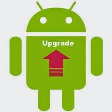 Cara Upgrade OS Ponsel Android semua Versi tanpa PC Setting Terbaru