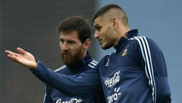 La raison pour laquelle Icardi est très mal vu par Messi et les argentins