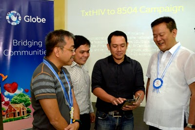 Globe launches TxtHIV campaign