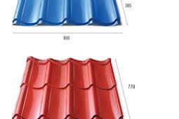 Macam-macam genteng atap metal Zincalume / Galvalum