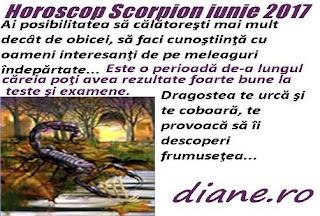 Horoscop iunie 2017 Scorpion