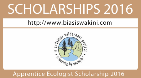 Apprentice Ecologist Open Space Initiative Scholarship 2016