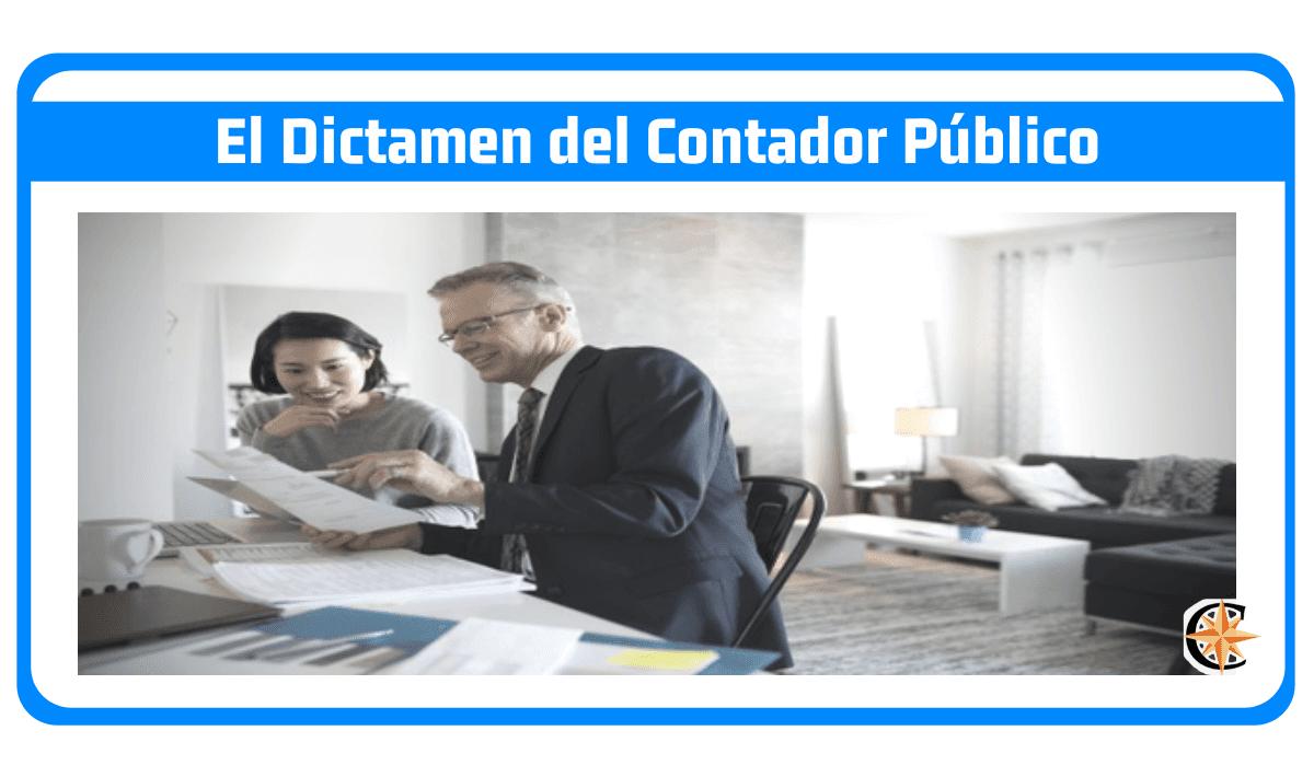 El dictamen del contador público