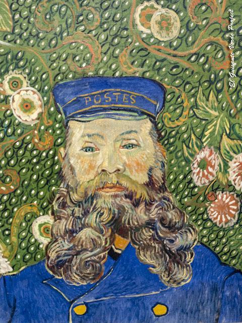 Van Gogh, Retrato de Joseph Roulin - MOMA, Nueva York por El Guisante Verde Project