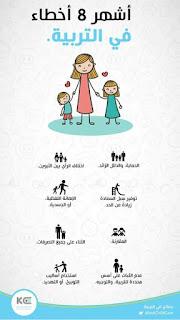 اشهر 8 اخطاء في التربية
