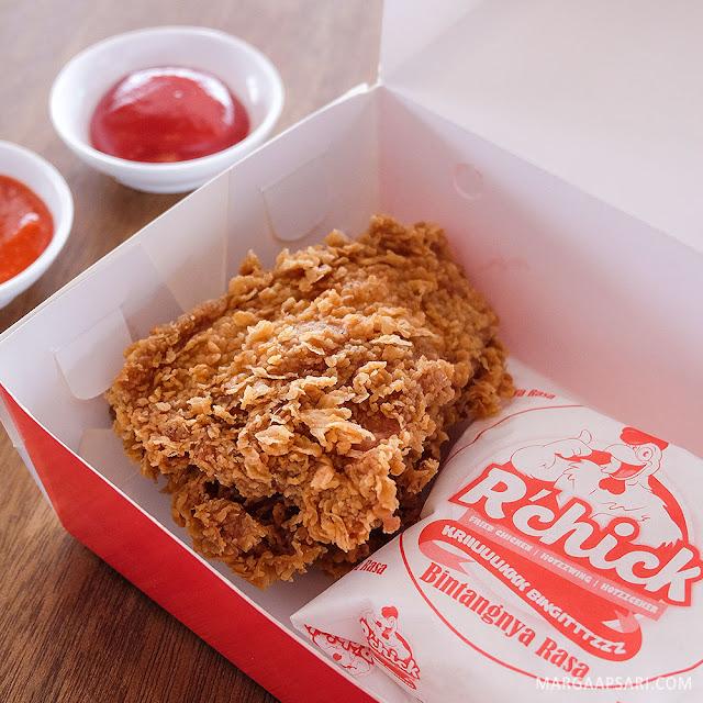 Paket Nasi R'Chick Warunk Starmeal