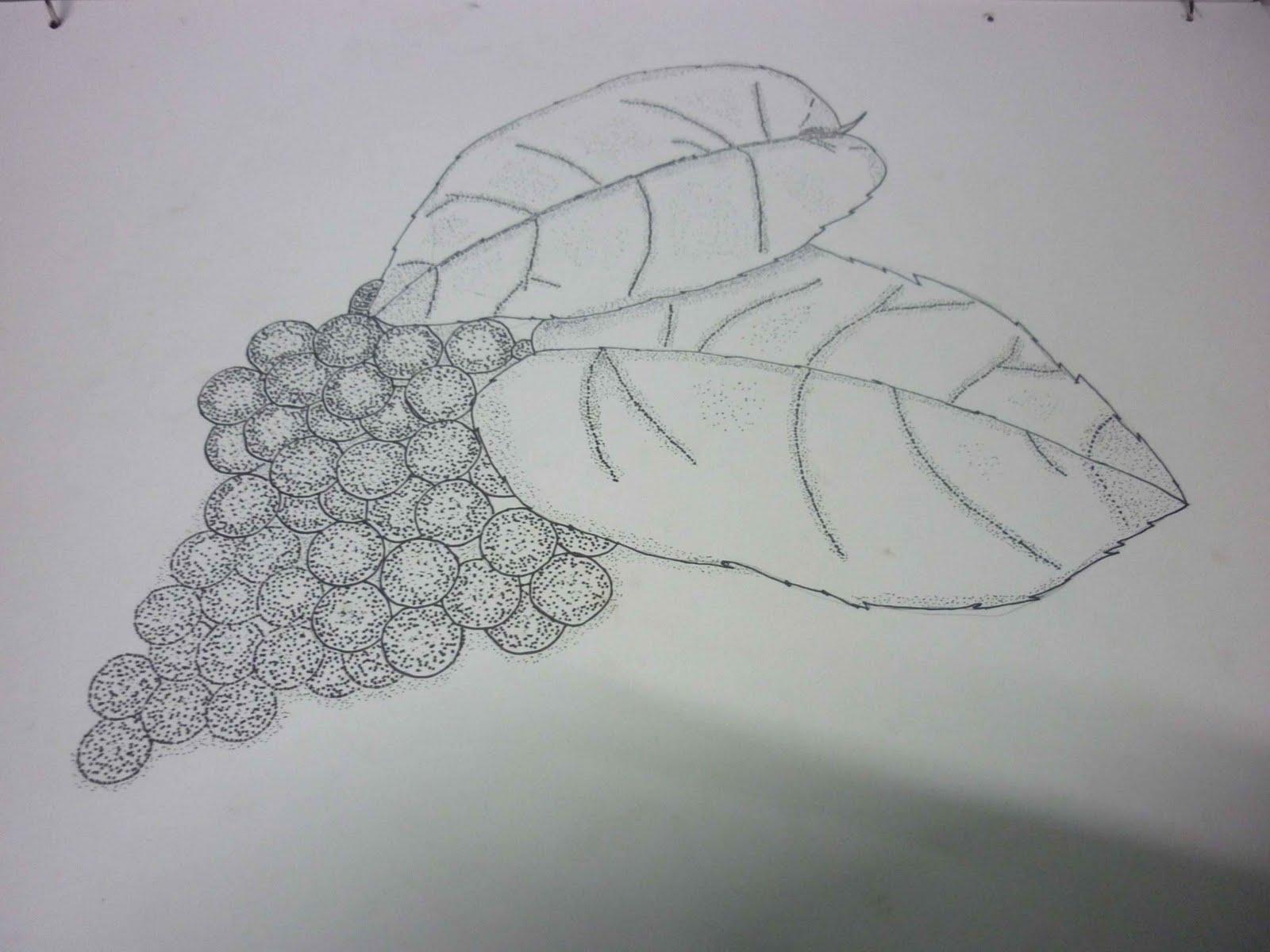 Muhamad Zulhilmi S Portfolio Drawing Stu S Mix Media Hatching Cross Hatching Stippling And
