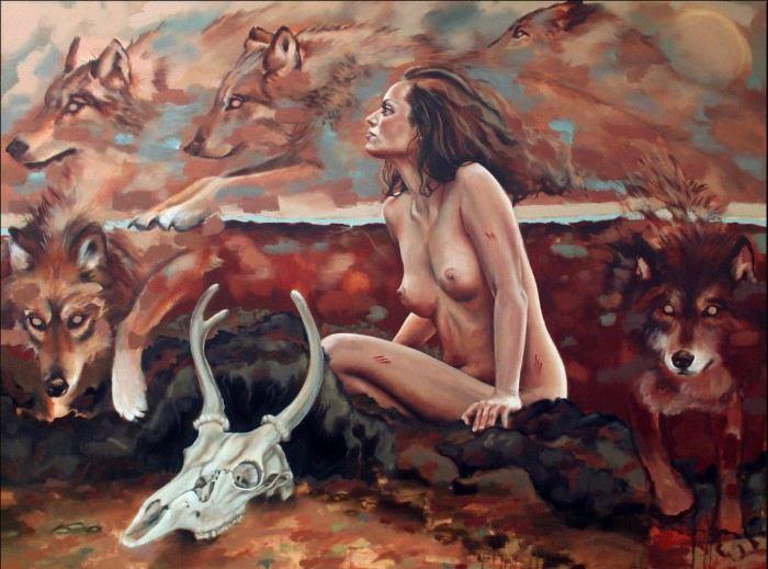 Британский художник. Toni Cogdell