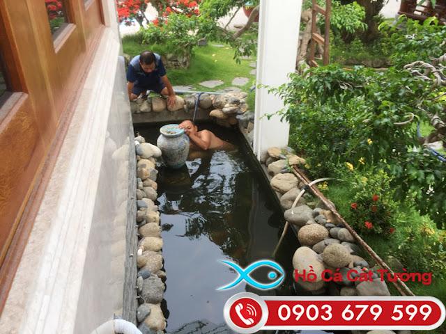 Thiết kế bộ lọc nước hồ cá koi chất lượng