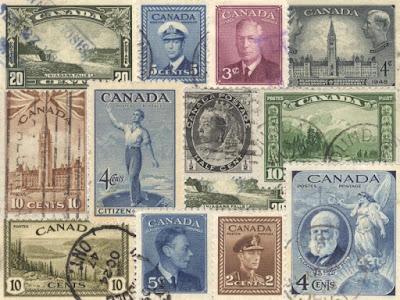 Estampillas de Canada