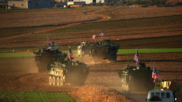 """""""EEUU envía 43 tanques y blindados a ciudad siria de Manbiy"""""""