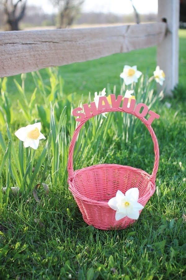 DIY Shavuot Basket