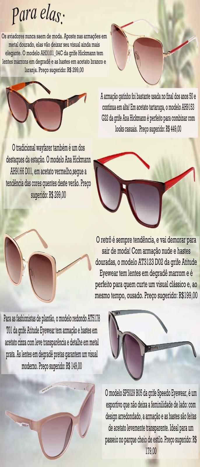 Terapia Feminina  ♪ Com que óculos eu vou... Curtir a praia no verão!♫ 2d23550c22