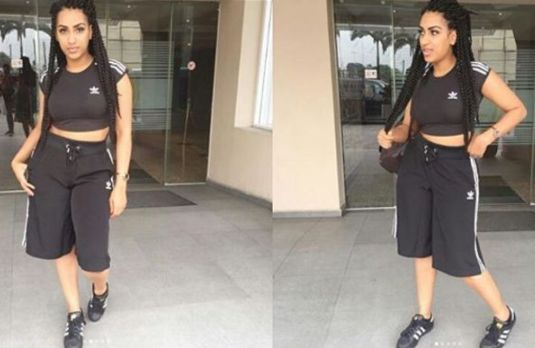 Juliet Ibrahim Steps Out In Adidas Everything