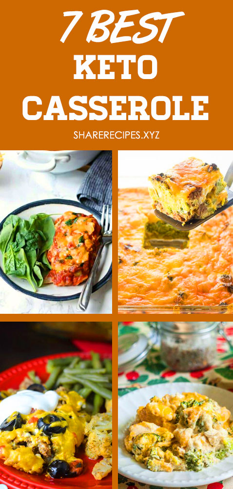 Love an easy casserole, can't wait to try these best 7 keto casserole recipes! Now I have some of the BEST low carb dinner casseroles for weight loss! Keto dinner recipes, Low carb meals, Keto chicken recipes, Keto recipes easy, Keto ground beef recipes, Low carb casserole recipes #keto #ketodiet #ketogenic #lowcarb #casserole #weightloss #ketocasserole #ketochickenrecipes