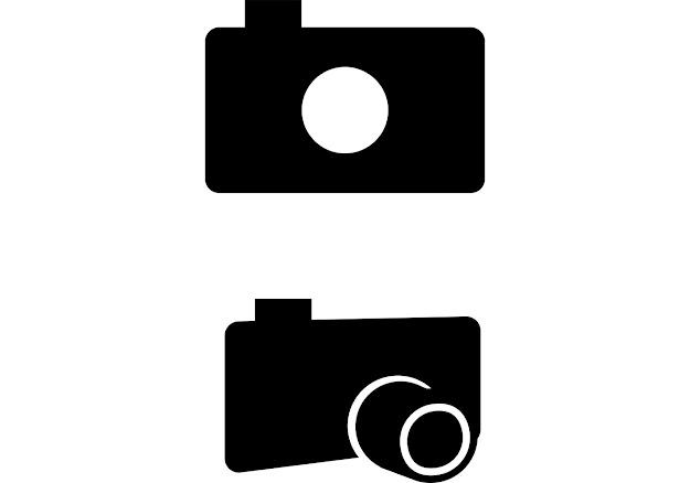 Photograph Camera Icon  Free Film Icon Vector