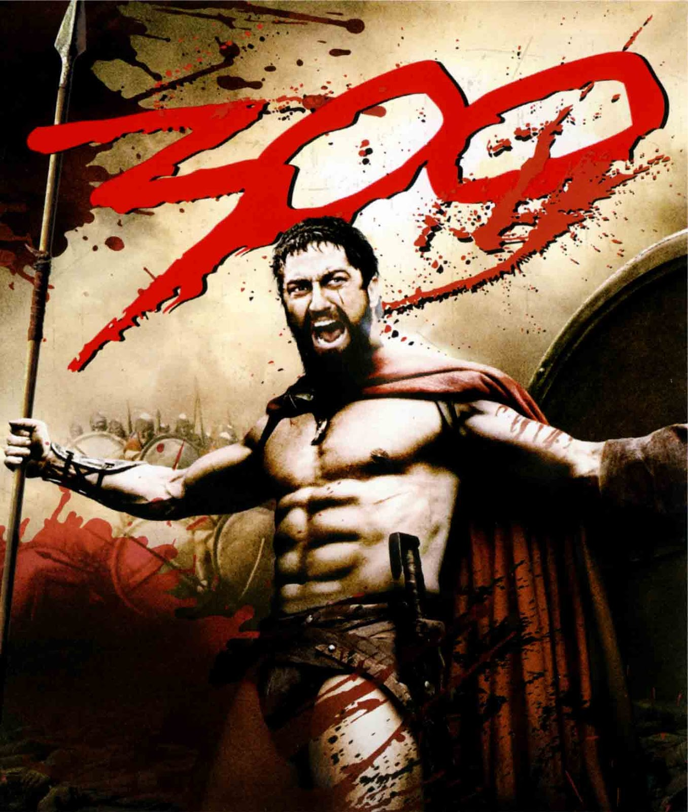 300 Torrent - BluRay 720p/1080p Dual Áudio