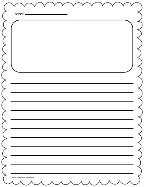 Space Themed Handwriting Worksheet