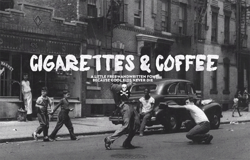 Cigarettes_and_Coffee_Font