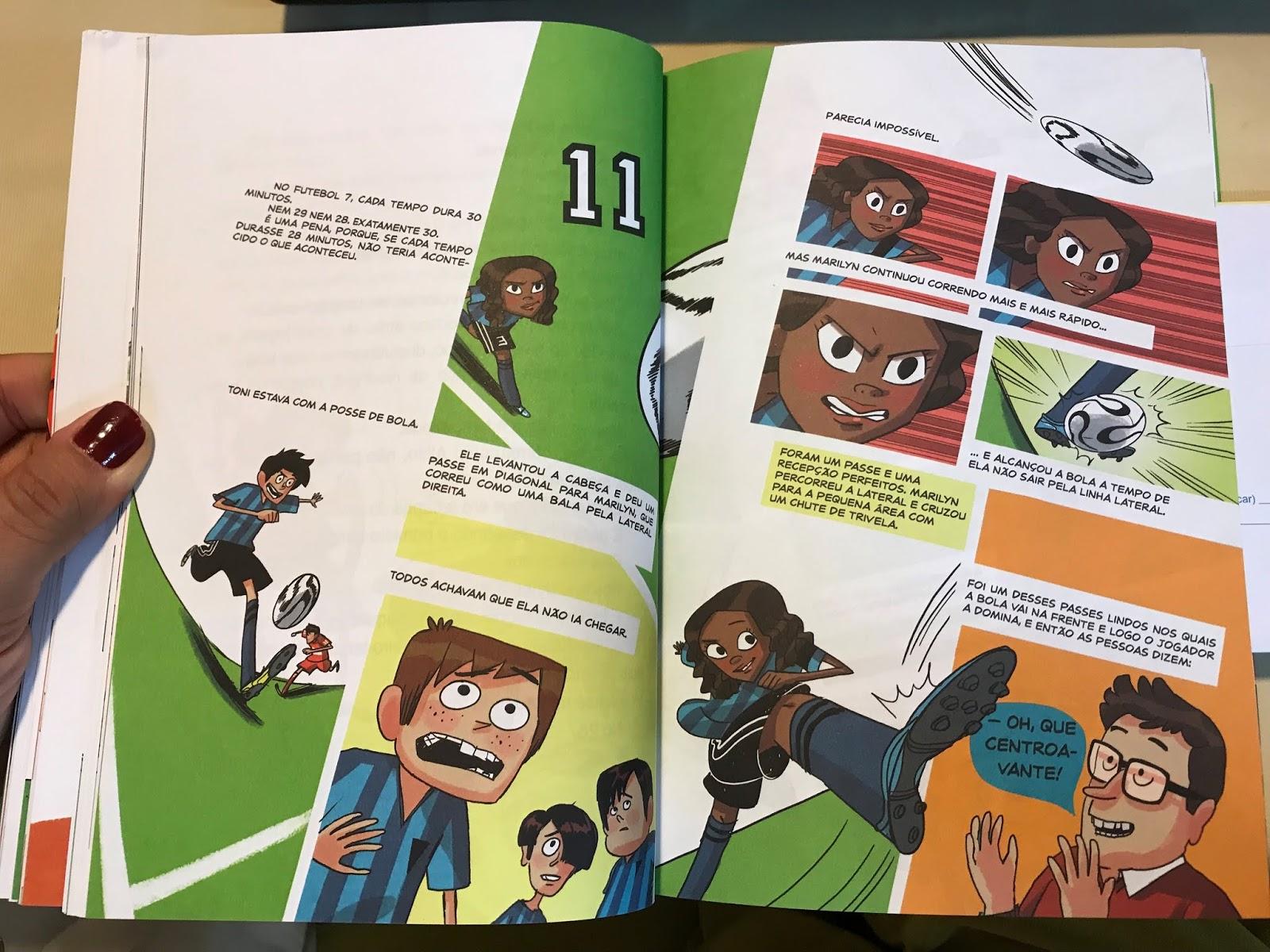 6eb765d3c de Historias em Quadrinhos - HQ com texto muito divertido.