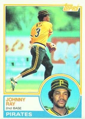 1983 Topps Blog 149 Johnny Ray Pittsburgh Pirates