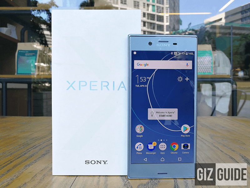 Sony Xperia XZs Unboxing And First Impressions