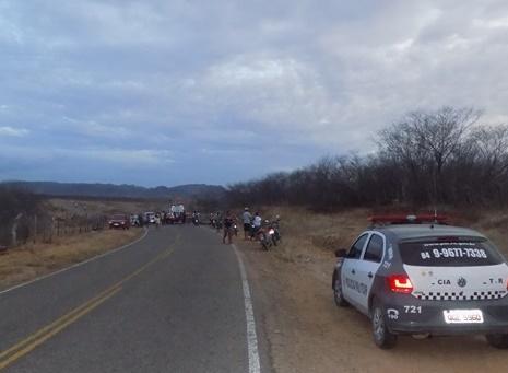 Uiraunense morre em acidente de moto na RN 117