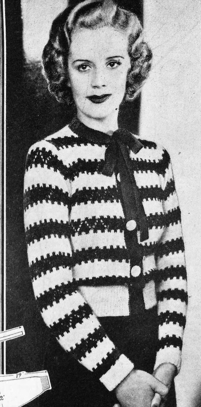 The Vintage Pattern Files: Free 1930s Knitting Pattern - An Adorable ...
