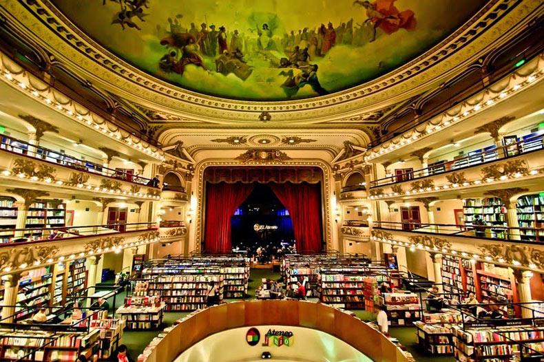 Ateneo Grand Splendid, una librería en un antiguo teatro | Argentina