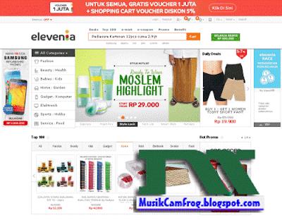 nama situs toko online indonesia terpopuler elevania.co.id