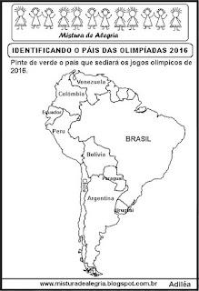 Jogos olímpicos 2016 e América do Sul