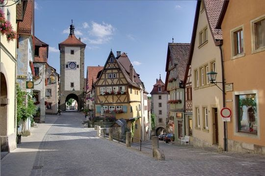 Rothenburg ob der Tauber, Jerman